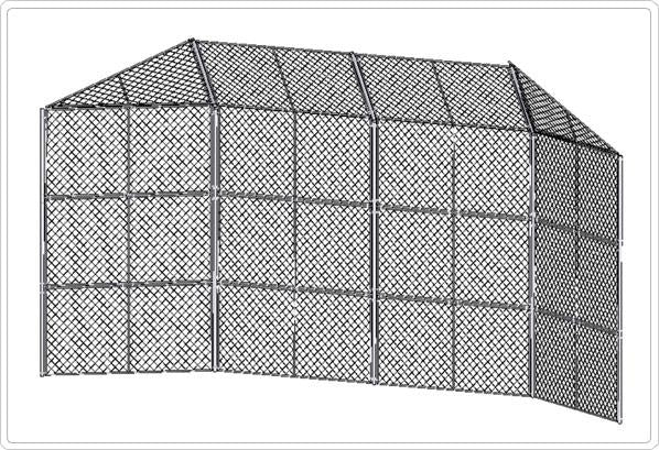 Extra Heavy Duty Baseball Backstop with Hood