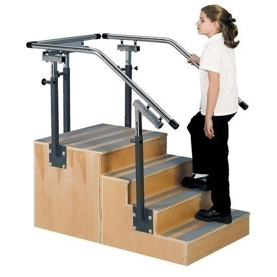 Flaghouse Adjustable Onesided Training Stair