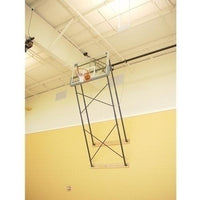 Fold-Up Wall Mount Series 9-12feet Extension Rectangular Board For Adjust-A-Goal