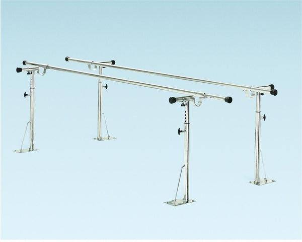 Height/width Adjustable Floor Mount Parallel Bars, 20'