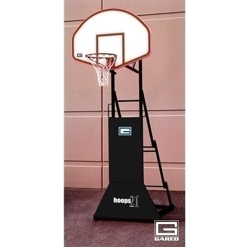 HOOPS 21 Inch3 On 3inch Height Adjustable Portable Basketball System