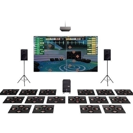 Idance Arcade 8player System With 8 Additional Practice Mats