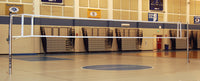 Master Telescopic One-Court Volleyball System, Less Floor Sleeves and Covers