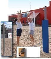 Match Point Competition Outdoor Volleyball System - Complete