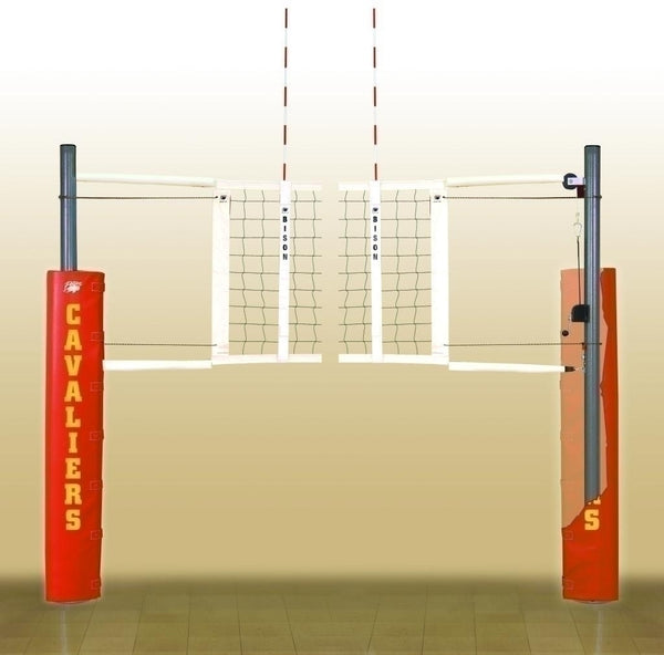 Match Point Side-By-Side Double Court Vb System