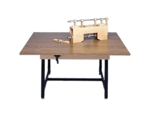 "Maunal Hi-Lo Work Table, 48"" X 60"""