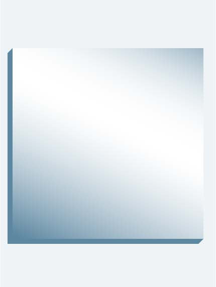 "Mega Mirror 144"" X144"" X 1-7/16"" Thick"