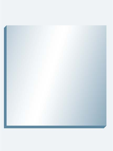 "Mega Mirror 96"" X 96"" X 1-7/16"" Thick"