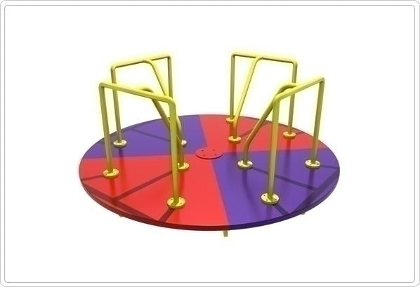 Merry-Go-Round- 8 Ft Multi Color