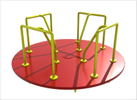 Merry-Go-Round- 8 Ft Red Yellow
