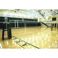 Omnisteelinch Collegiate Telescopic One-Court Volleyball System
