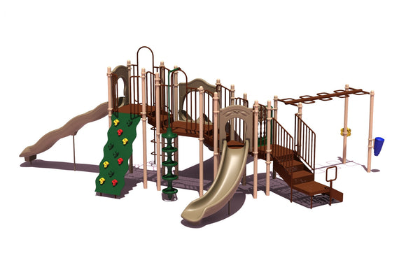 Play Structures For Children Slide Mountain (natural)