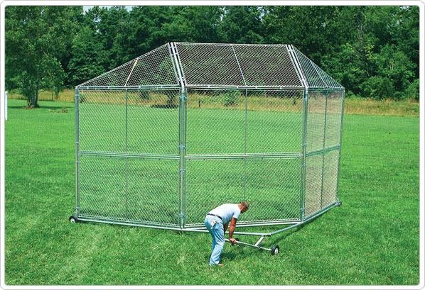 Portable Baseball Backstop With Hood