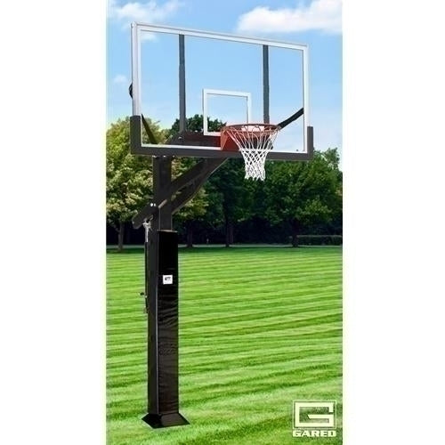 All Pro Jam Adjustable Basketball System With 6inch X 8inch Post And 72inch Acrylic Board