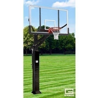 All Pro Jam Adjustable Basketball System With 6inch X 8inch Post And 72inch Polycarbonate Board