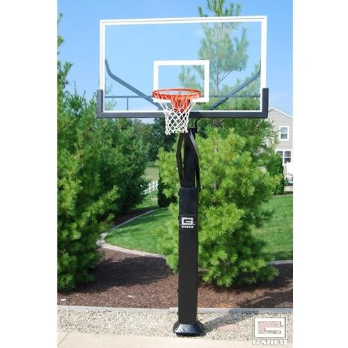 Pro Jam Adjustable Basketball System With 6inch Post And 72inch Glass Board
