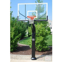 Pro Jam Adjustable Basketball System With 6inch Post And 72inch Polycarbonate Board