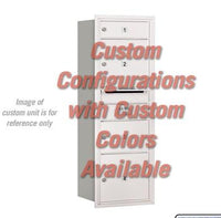 Recessed Mounted 4C Horizontal Mailbox - 3711S-CCRU