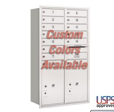 Recessed Mounted 4C Horizontal Mailbox - 3713D-14CRU