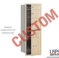 Recessed Mounted 4C Horizontal Mailbox - 3713S-CGFU