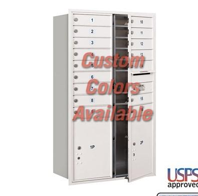 Recessed Mounted 4C Horizontal Mailbox - 3714D-16CFU