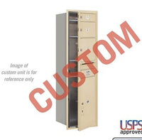Recessed Mounted 4C Horizontal Mailbox - 3714S-CGFU