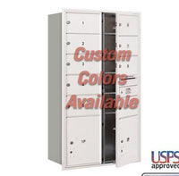 Recessed Mounted 4C Horizontal Mailbox - 3715D-09CFU
