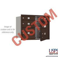 Recessed Mounted 4C Horizontal Mailbox - 3706D-CZFU