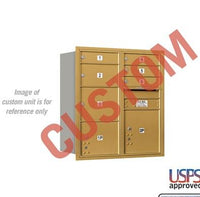 Recessed Mounted 4C Horizontal Mailbox - 3709D-CSRU