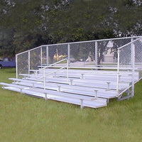 Semi Enclosed Bleachers 10 Rows 15'