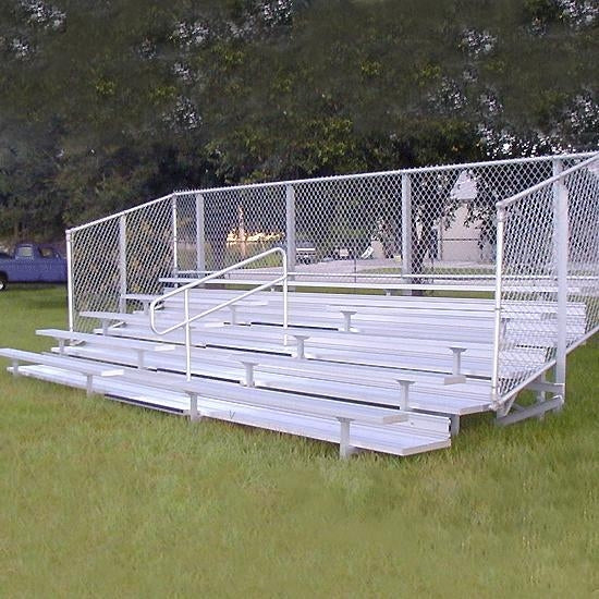 Semi Enclosed Bleachers 5 Rows 21'