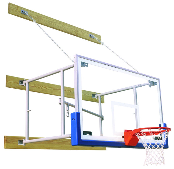 Side Fold 6 Feet-8 Feet Competitor Basketball Package