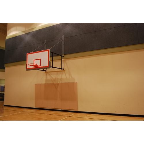 Side-Fold Wall Mount Series 6-9feet Extension Rectangular Board For Adjust-A-Goal