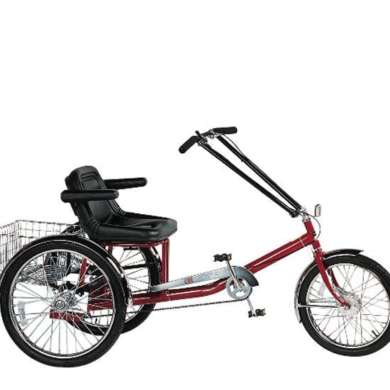 Single Rider Trike With Full Support Seat Electrical 1 Speed