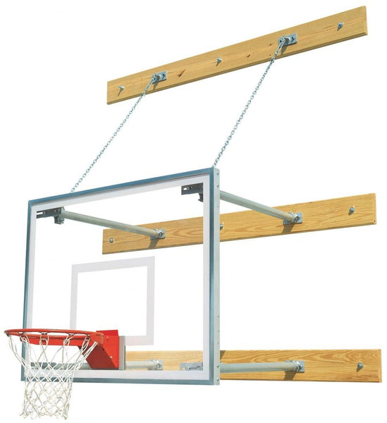 Stationary 4 Feet-8 Feet Gymnasium Basketball Package