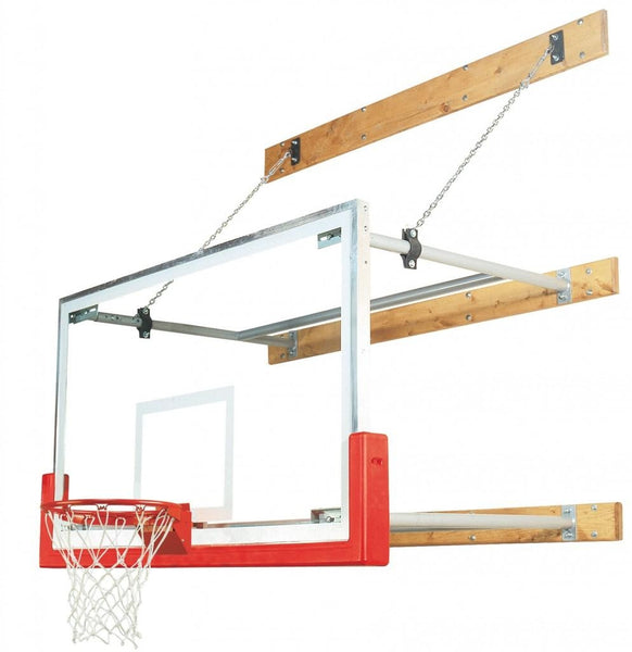 Stationary 8 Feet-12 Feet Competitor Basketball Package