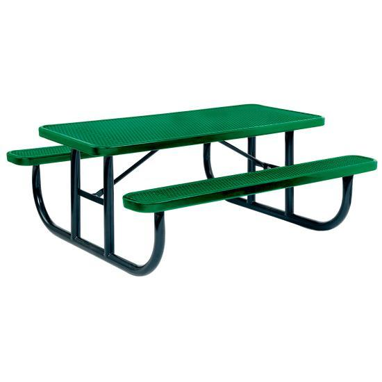 Steel Mesh Table 8' Colorful Pvc Coated