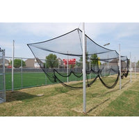 Steel Outdoor Batting/multi-Sport Cage 55feet