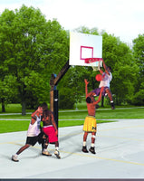 Ultimate Official 72 Inch X 42 Inch Steel Basketball System