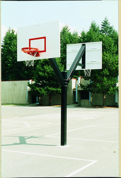 Ultimate Steel Double-Sided Basketball System