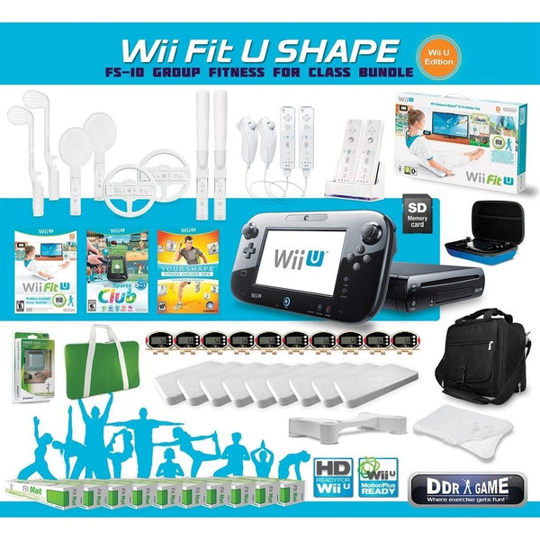 Wii Fit U Shape Class Bundle Ns15