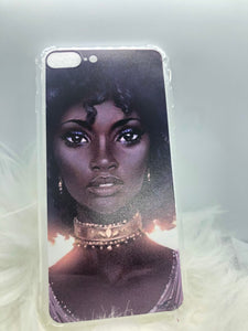 Melanin Phone Case: Fro Queen
