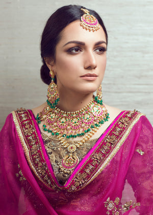 Saira Necklace and Earrings