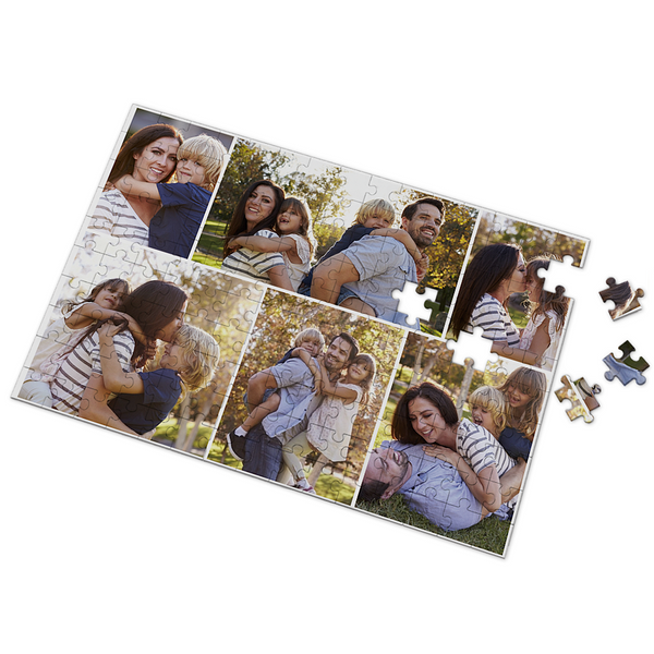 Custom We Are Family Photo Puzzle 35-500 Pieces