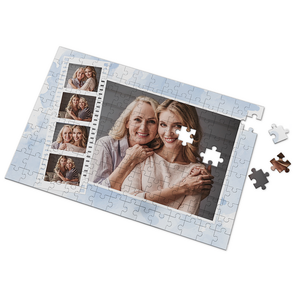 Custom Enjoy The Life Photo Puzzle 35-500 Pieces