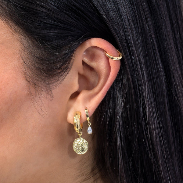 Solid Hinge Ear Cuff