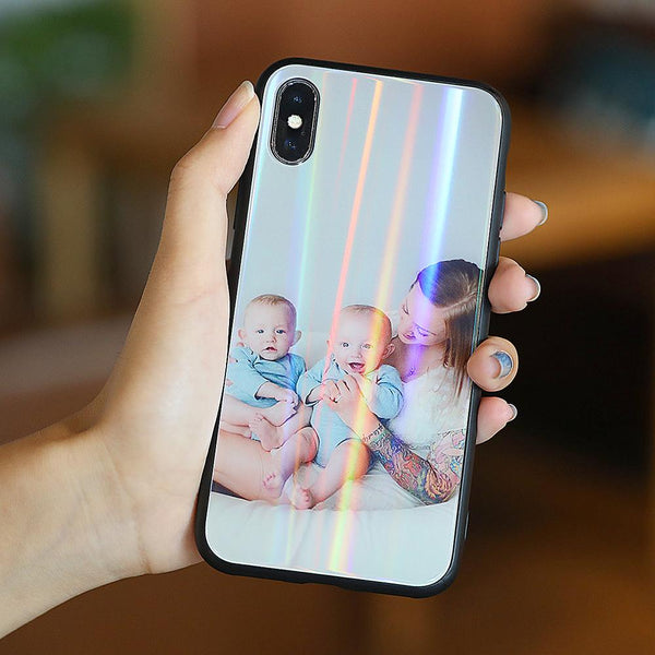 iPhone Aurora Custom Photo Phone Case