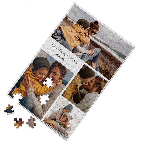Custom Photo Puzzle Love You and Life 35-500 Pieces