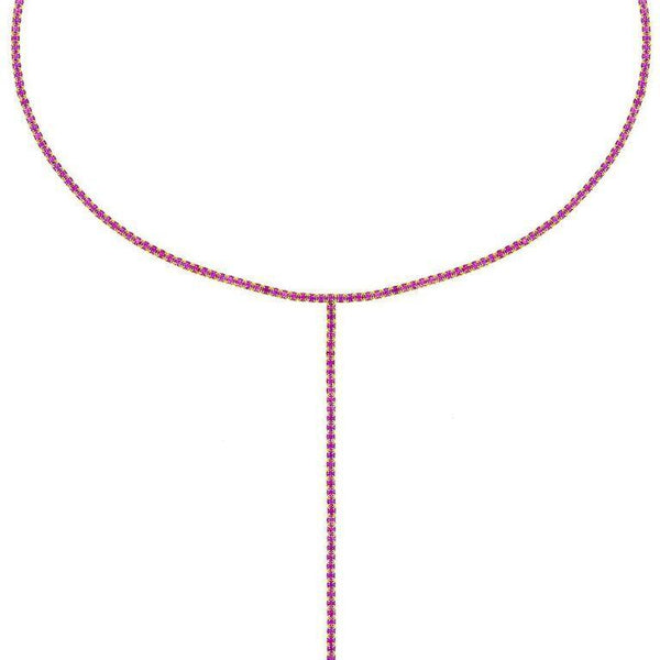 Colored Tennis Lariat