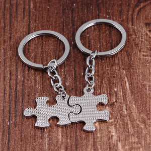 You Are My Person Couple's Puzzle Keychain